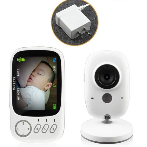 Wireless Video Color Baby Monitor High Resolution Baby Nanny Security Camera Night Vision Temperature Monitoring